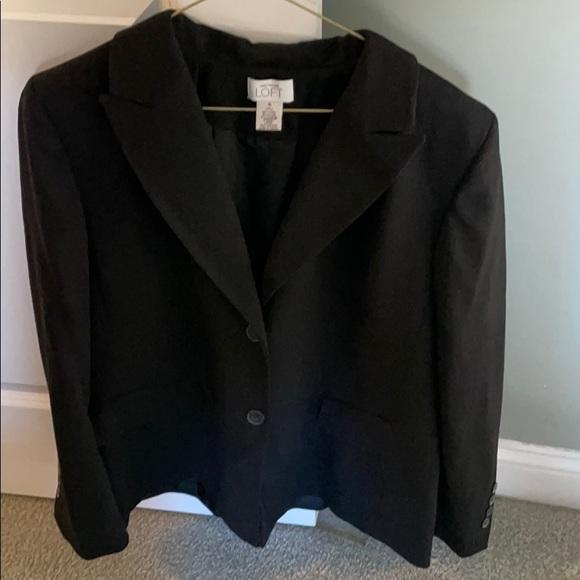Ann Taylor Loft suit - black size 16